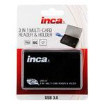 Inca 3 in 1 Multi-Card Reader