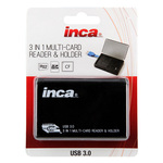 Inca 3 in 1 Multi-Card Reader