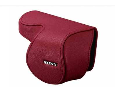 Sony Nex 16mm Lens Jacket Case - LCSEML1AB (No Packaging)