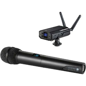 Audio-Technica System 10 Camera-Mount Kit + Wireless Handheld Mic