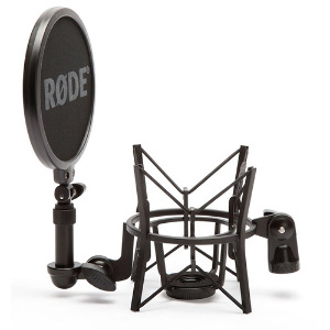 Rode Shock Mount with Detachable Pop Filter