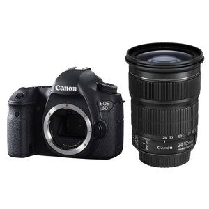 Canon EOS 6D DSLR + EF 24-105mm f/3.5-5.6 IS STM Lens