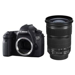 Canon EOS 6D DSLR + EF 24-105mm f/3.5-5.6 IS STM Lens