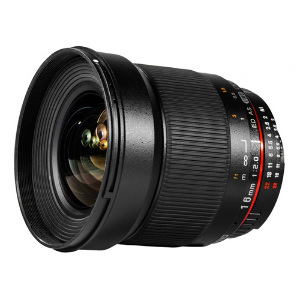 Samyang 16mm f/2 ED AS UMC CS Lens for APS-C Sony A-Mount