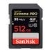 SanDisk 512GB Extreme Pro SDXC UHS-I Memory Card - 95MB/s
