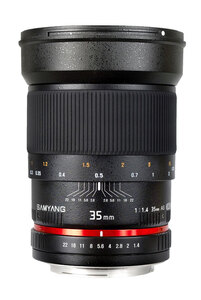 Samyang 35mm f/1.4 AE Lens for Canon EF Mount II