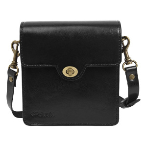 Polaroid Socialmatic Vintage Leather Case - Black