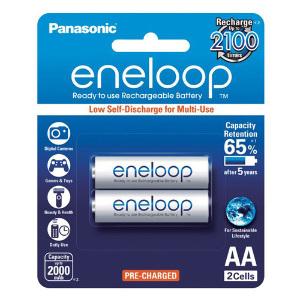 Panasonic Eneloop AA Batteries 2000mAh 2-pack