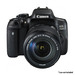 Canon EOS 750D + EF-S 18-55mm IS STM + EF-S 55-250mm IS STM Lens