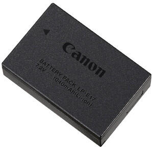 Canon LP-E17 Rechargeable Li-Ion Battery