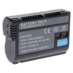 Inca EN-EL15 Li-Ion Battery for Nikon