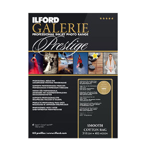 Ilford Galerie Smooth Cotton Rag Paper A4 – 25 Sheets