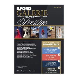 Ilford Galerie Prestige Fine Art Discovery Pack A4 – 20 Sheets
