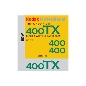 Kodak Tri-X Black and White ASA 400 120 Film