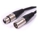 Swamp Stage Series XLR Female to Male Balanced Microphone Cable – 25m