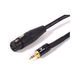 Swamp Microphone Cable XLR (mono female) to 3.5mm Stereo Jack – 5m