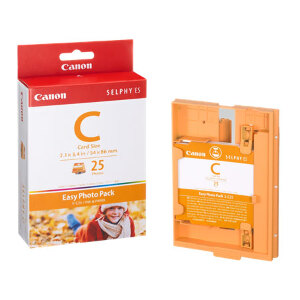 Canon Easy Photo Pack Credit Card Size - 25 sheets #EC25
