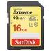 SanDisk Extreme 16GB SDHC 4K 90MB/s