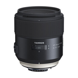 Tamron SP 45mm F/1.8 VC Lens