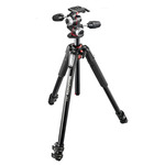 Manfrotto Manfrotto 055XPRO3 + 3-Way Head Tripod Kit