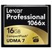 Lexar Pro Compact Flash 16gb - 1066X (160mb/s)