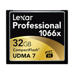 Lexar Pro CompactFlash 32gb - 1066X