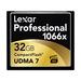 Lexar Pro Compact Flash 32gb - 1066X (160mb/s)
