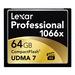 Lexar Pro Compact Flash 64gb - 1066X (160mb/s)