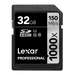 Lexar Professional 1000x SDHC Memory Card - 32GB