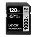 Lexar Professional 1000x SDXC Memory Card - 128GB