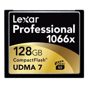 Lexar Pro Compact Flash 128gb - 1066X (160mb/s)