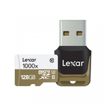 Lexar Pro Micro SD - 128gb - 1000X (150mb/s) with USB 3.0 Adaptor