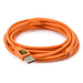 Tether Tools Pro Tethering Kit with USB 2.0 A to Mini-B 5-Pin Cable - 4.6m - Hi-Vis Orange