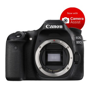 Canon EOS 80D DSLR - Body Only