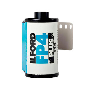 Ilford FP4 Plus Black and White 35mm Film - 24 Exposures