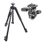 Manfrotto MK190X3-3W1 Tripod with 804 MkII Head