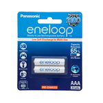 Panasonic Rechargeable AAA Batteries- 2 Pack