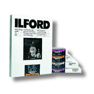 Ilford Multigrade IV RC Deluxe Variable Contrast Black & White Paper 25M Satin - 8x10 inch - 100 Sheets (1772081)