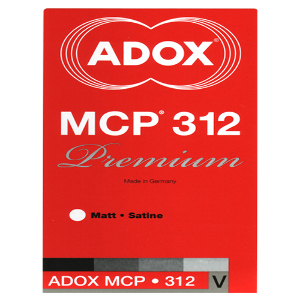Adox MCP 312 Resin Coated Black & White Paper - Pearl (8x10 inch - 100 Sheets)