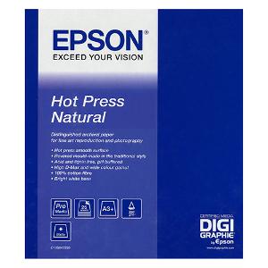 Epson Hot Press Natural Paper A3+ - 25 Sheets