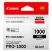 Canon Ink Cartridge PFI-1000MBK - Matte Black