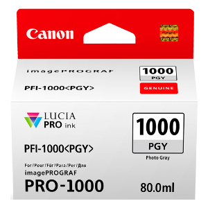 Canon Ink Cartridge PFI-1000PGY - Photo Grey