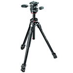 Manfrotto 290 Dual Tripod + MH804-3W - 3 Way Head