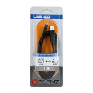 Glanz USB Mini Cable No-Packaging