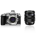 Olympus OM-D E-M1 - Silver + 12-40mm PRO Lens - Silver Kit Only