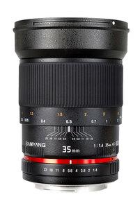 Samyang 35mm f/1.4 Lens - Canon Mount