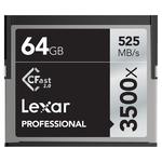 Lexar Pro CFast 2.0 - 64GB - 3500X (525mb/s)