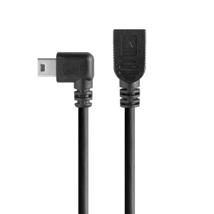 TetherPro Mini-B USB Right Angle Cable Adaptor - 30 cm