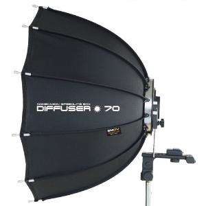 SMDV Quickfold Dodecagon Softbox Diffuser for Speedlites