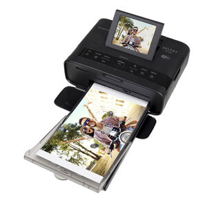 Canon Selphy CP1200 - Compact Dye-Sublimation Photo Printer - Black Colour